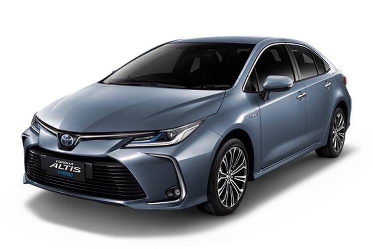 Toyota All New Corolla Altis lebih dulu diluncurkan di Thailand pada 3 September 2019