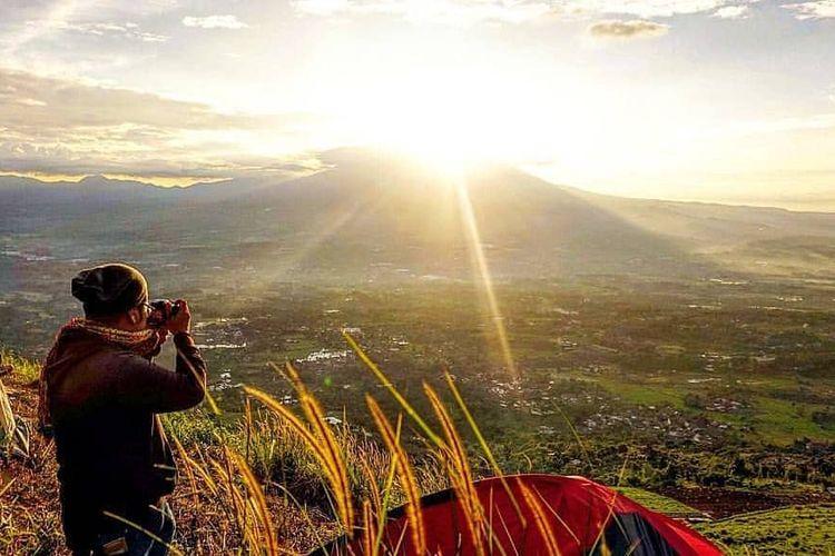 Bukit Alesano di Kabupaten Bogor, Jawa Barat.