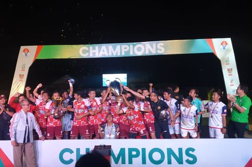 UPI Bandung Juara Piala Menpora U-21 2019