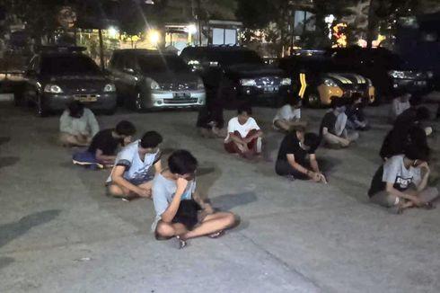 Ikut Tren Balap Lari Liar di Jalanan, 40 Orang Warga Koja Ditangkap Polisi