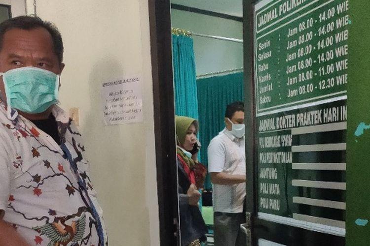 Sejumlah anggota DPRD Kota Tegal, Jawa Tengah, menjalani serangkaian tes kesehatan di RSUD Kardinah, Jumat (20/3/2020)