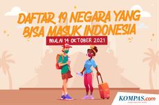 INFOGRAFIK: Daftar 19 Negara yang Boleh Masuk Indonesia