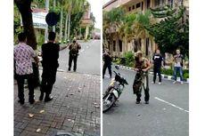 Viral Pria Terobos Penjagaan dan Tantang Anggota Polisi di Mapolda NTB