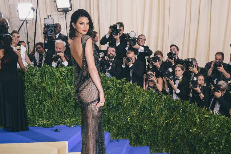 Kendall Jenner saat Met Gala