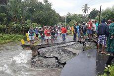 Jembatan Penghubung Sejumlah Desa di Pulau Seram Ambruk