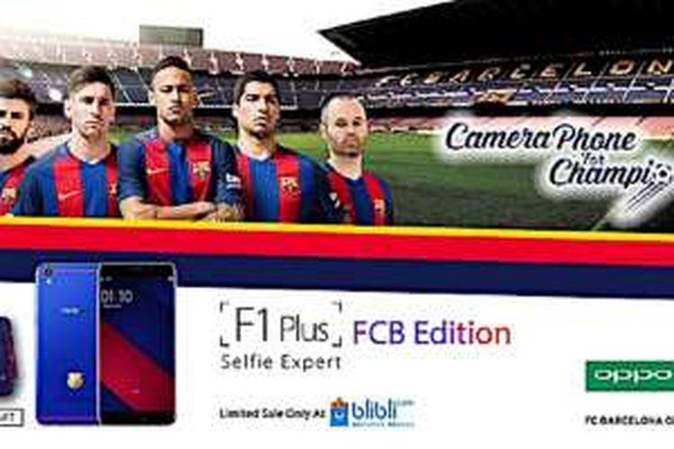 Oppo F1 Plus FCB Edition