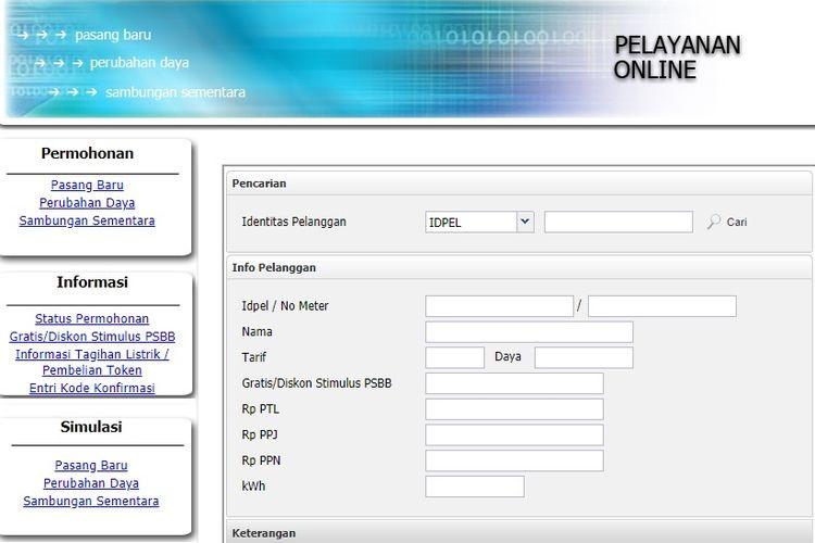 cara klaim token listrik gratis PLN di www.pln.co.id