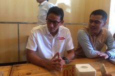 Sandiaga Temui Pengusaha Muda di Jakarta Timur