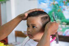 Yang Harus Dilakukan Orangtua Jika Anak Potong Rambut Sendiri
