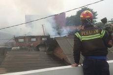 Kebakaran di Pabrik Tahu Bekasi, Seluruh Bangunan Ludes Dilalap Api