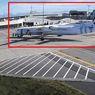 Ganjal Roda Dilepas dan Rem Blong, Pesawat Jet Tabrakan di Bandara