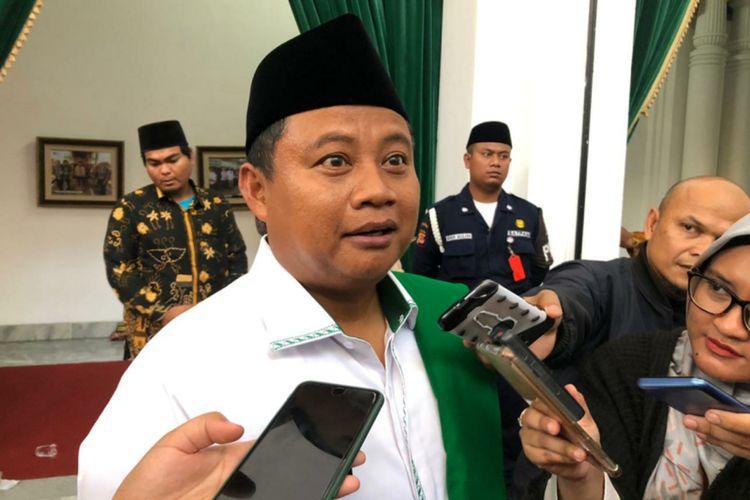 Wakil Gubernur Jawa Barat Uu Ruzhanul Ulum saat ditemui di Gedung Sate, Kota Bandung, beberapa waktu lalu.