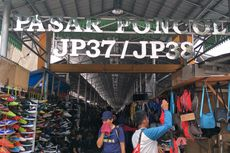 Sudin KUMKM Jakpus Tutup Sementara Pasar Poncol Selama PSBB