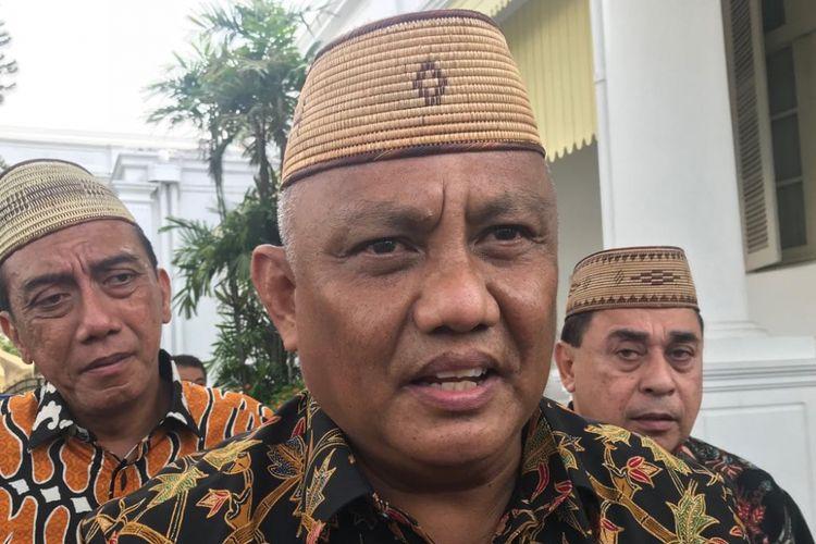 Gubernur Gorontalo Rusli Habibie.