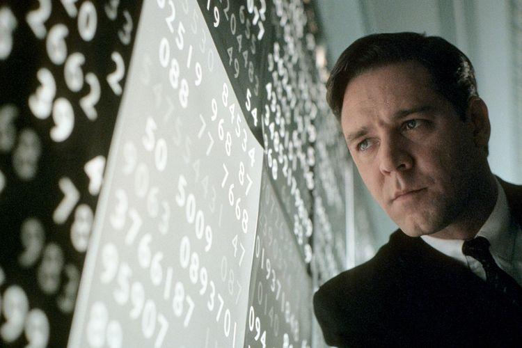 Russell Crowe dalam film A Beautiful Mind
