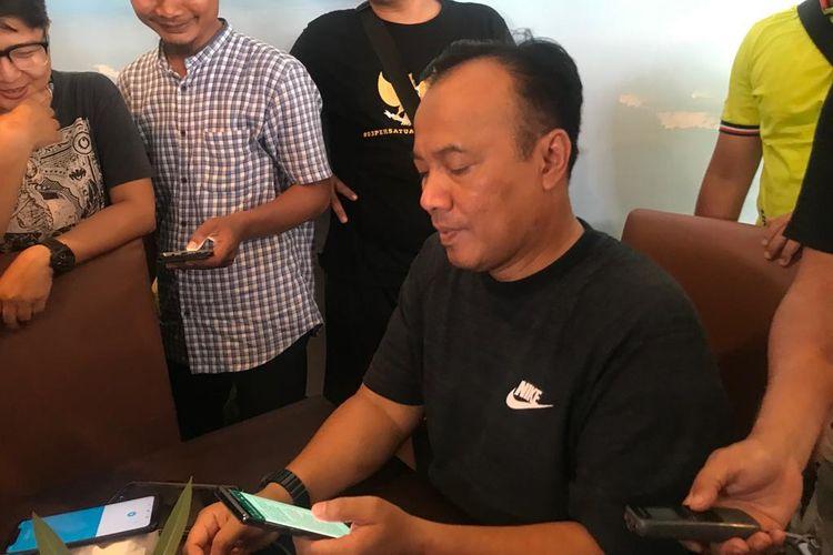 Kepala Biro Penerangan Masyarakat (Karo Penmas) Divisi Humas Polri Brigjen Dedi Prasetyo di Pulau Bidadari, Kepulauan Seribu, Jakarta, Jumat (30/8/2019).