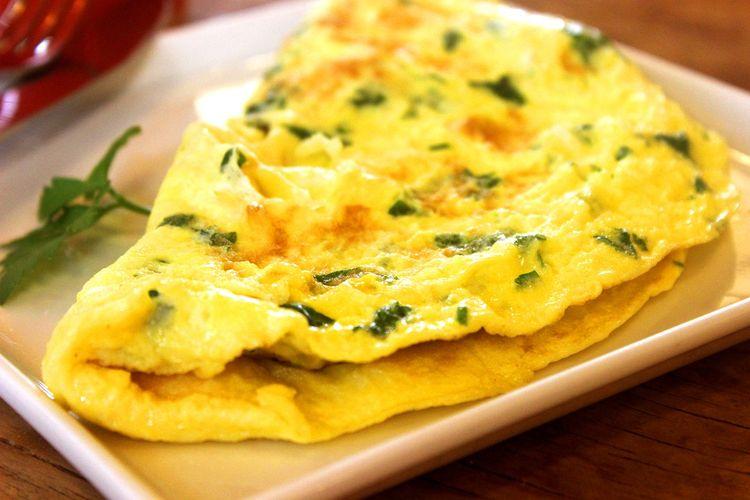 Telur adalah salah satu menu sarapan untuk diet yang baik karena tinggi protein.