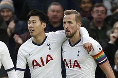 Tottenham Vs Arsenal, Son dan Kane Dekati Raihan Duet Legendaris Liga Inggris