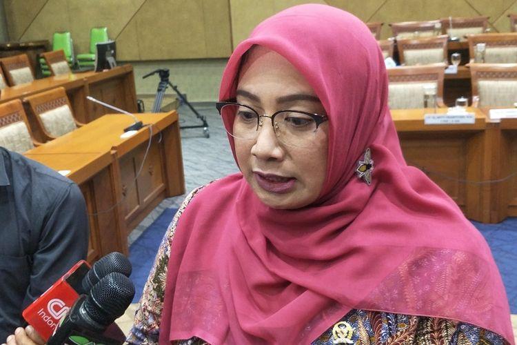 Wakil Ketua Komisi IX Nihayatul Wafiroh di Kompleks Parlemen, Senayan, Jakarta, Rabu (30/10/2019).