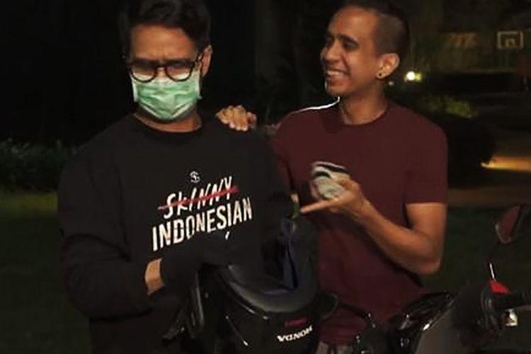 Konten ?YouTuber Hits Juga Ngirit?? milik SkinnyIndonesian24 yang sempat viral. (DOK. AHM)