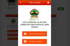 Laporkan Jalan Rusak di Jateng melalui Aplikasi