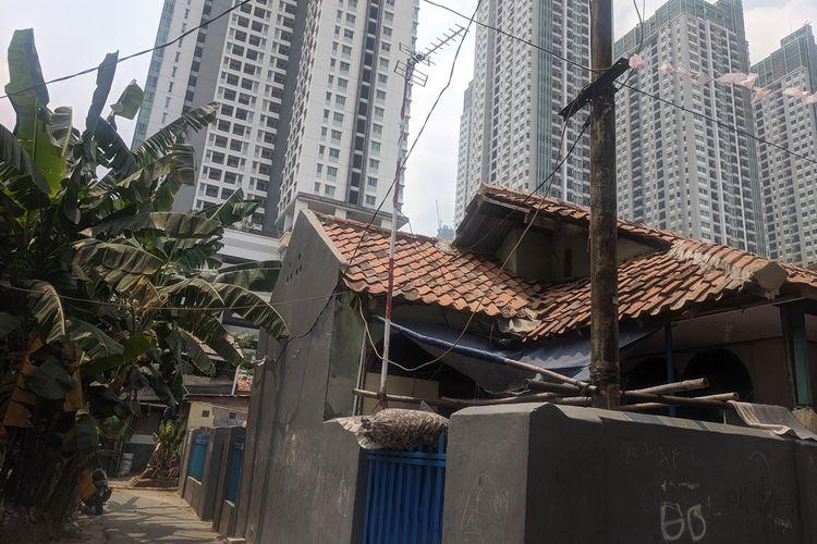 Kampung Kebon Melati, permukiman yang terkepung kawasan elit di Thamrin, Jakarta Pusat