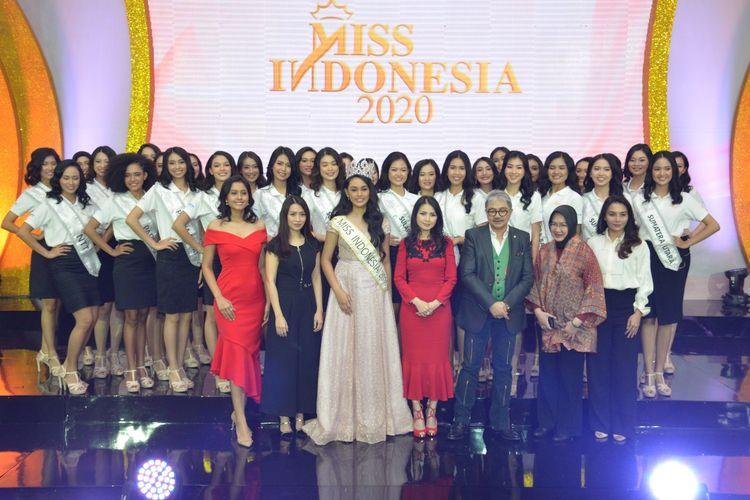 34 peserta dari 34 provinsi akan berlaga dalam ajang Miss Indonesia 2020.