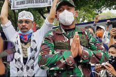 Telungkupkan Tangan, Asops Kasdam Jaya Minta Massa Aksi 1812 Bubarkan Diri