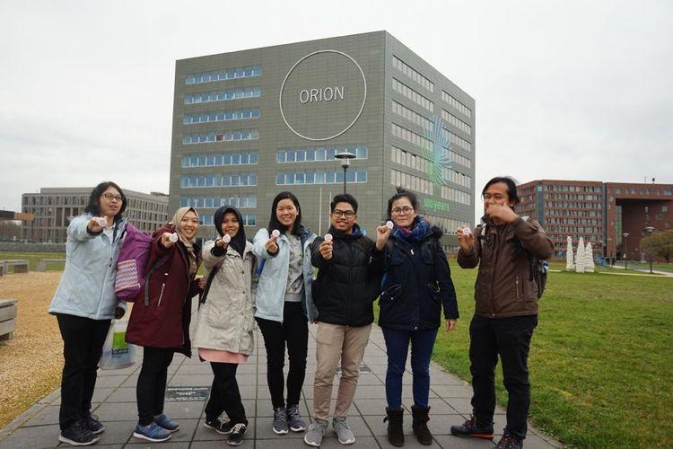 Penerima beasiswa Stuned di Wageningen University