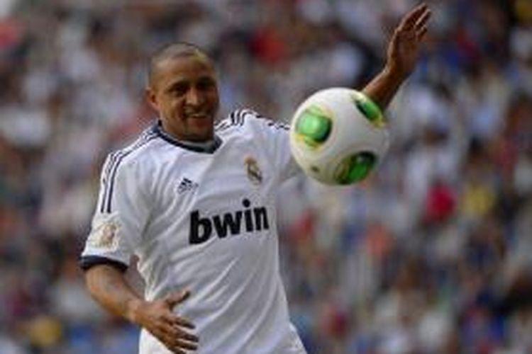 Legenda Brasil dan Real Madrid, Roberto Carlos.