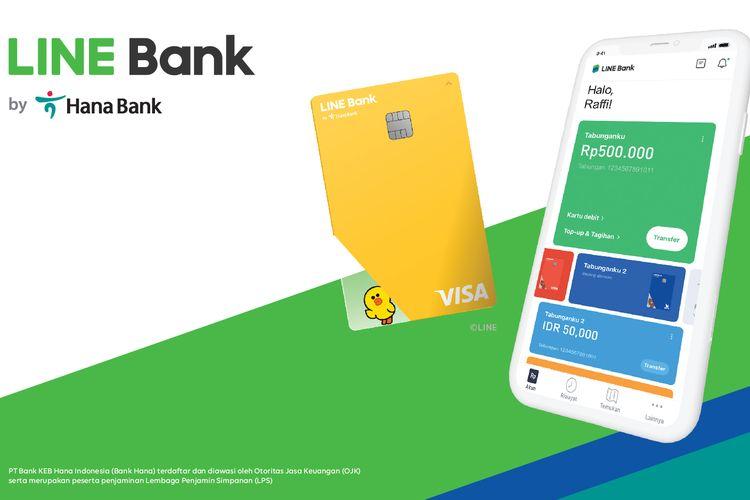 Line Bank dari Hana Bank