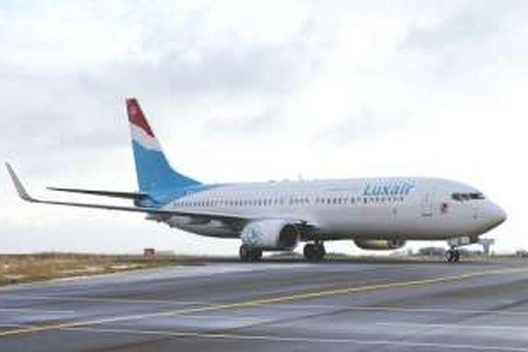 Pesawat Boeing 737 milik Luxair bakal disewa pendukung Islandia untuk perjalanan ke Perancis demi Piala Eropa 2016.
