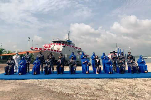 TNI AL Tambah Kapal Perang Baru, KAL Pandang dan KAL Sarudik
