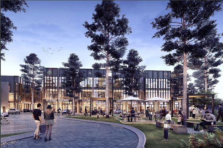 Ruko Tabespot yang dikembangkan Sinar Mas Land di kawasan Bumi Serpong Damai, Tangerang, Banten