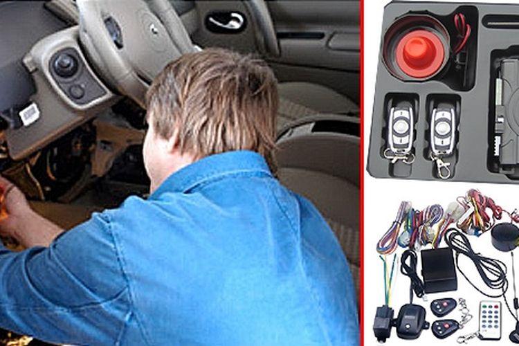 Instalasi alarm dan penggunaan komponen lebih lengkap bisa membuat mobil aman dari maling