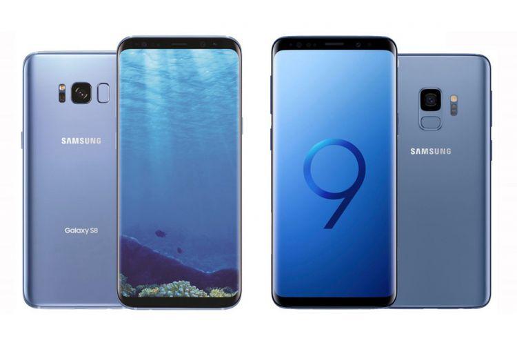 Membandingkan Bodi Dan Spesifikasi Galaxy S9 Note 8 Dan S8