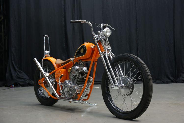 Yamaha Scorpio Chopper