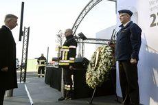 Setahun Serangan Bom Brussels, Karangan Bunga untuk Para Korban