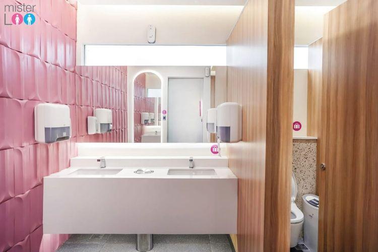 Pasar Modern BSD City Kini Dilengkapi Toilet Premium Ala Hotel Bintang Lima