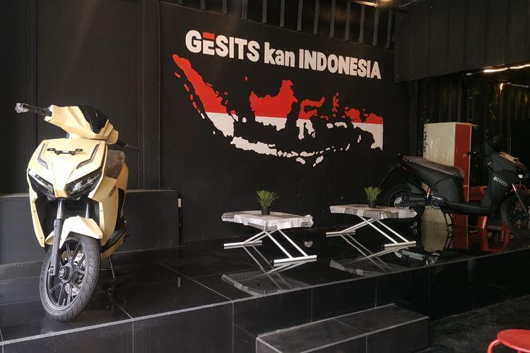 Dealer Gesits di H. Nawi Jakarta Selatan