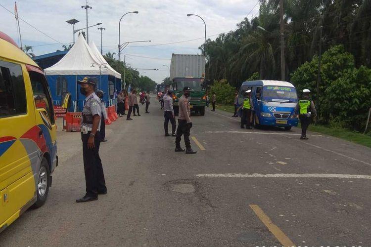 Pemudik Masih Bebas Lintasi Perbatasan Aceh Sumut Tak Ada Perintah Putar Balik