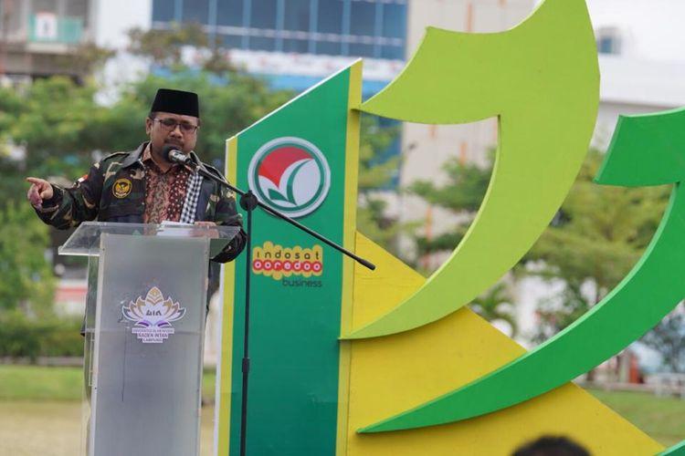 Menteri Agama Yaqut Cholil Qoumas resmi merilis seleksi masuk PTKIN jalur prestasi.