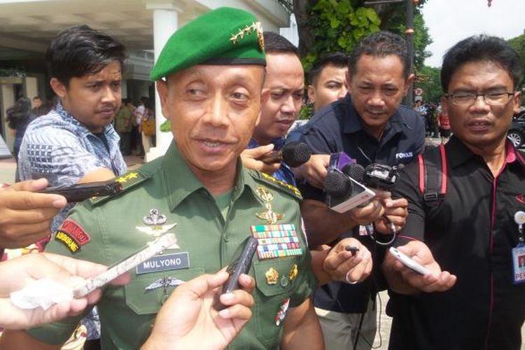 Kepala Staf TNI Angkatan Darat Jenderal TNI Mulyono.