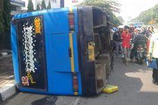 Tabrak Bus Transjakarta, Sopir Bus Kopami Melarikan Diri