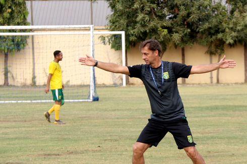 Cerita Latihan Persebaya, Berbagi Lapangan dengan Tim Bela Diri
