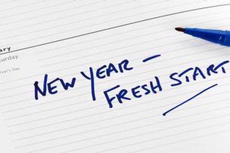 Sebaiknya susunlah resolusi 2013 untuk hidup dengan lebih positif