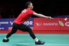 Indonesia Masters 2020, Jonatan Christie Tembus Perempat Final