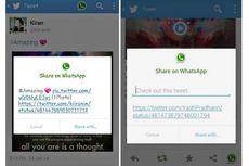 Twitter Versi Android Gabungkan Fitur WhatsApp?