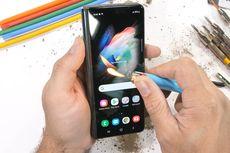 Samsung Galaxy Z Fold 3 Dibakar, Digores Pisau, dan Ditekuk, Sekuat Apa?