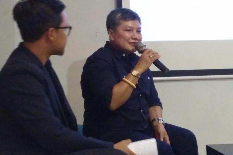 Anggota Komisi IX DPR RI Ribka Tjiptaning dalam diskusi di Jakarta, Sabtu (31/3/2018).